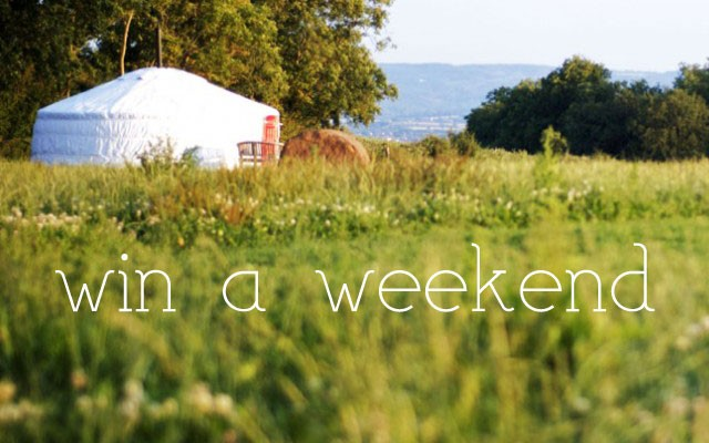 Win a Weekend at Somerset Yurts!