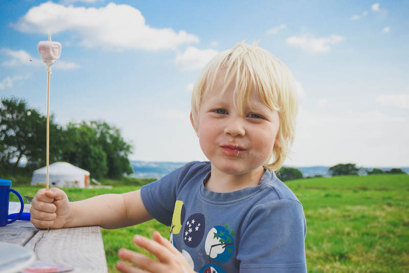 BBQ and Toasted Marshmallows | Somerset Yurts