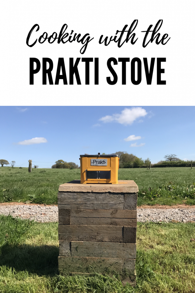 Prakti Stove: Cooking