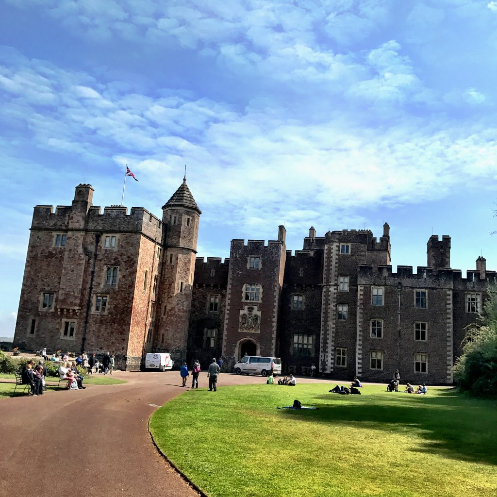 Dunster Castle main entrance