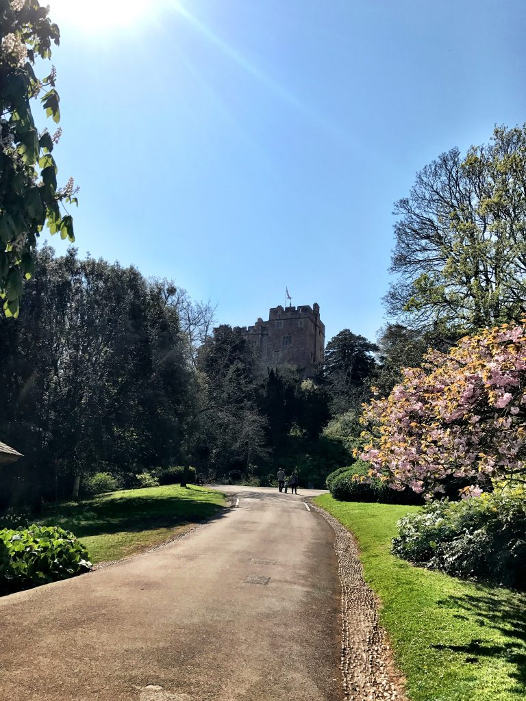 the walk to the castle