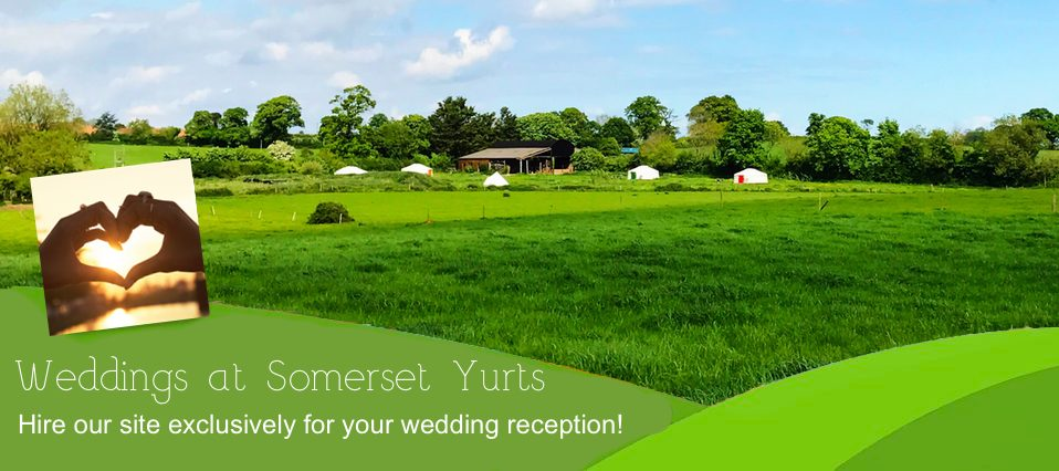 Weddings at Somerset Yurts